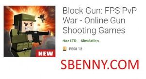 Block Gun: Gwerra FPS PvP - Logħob Online Shooting Gun + MOD