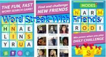 Word Streak: palabras con amigos