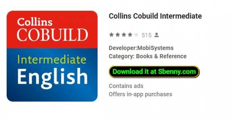 Collins Cobuild Intermediate + MOD