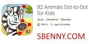 Animali 82 Punto-a-punto per bambini + MOD