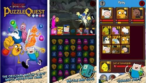 Adventure Time Puzzle Quest + MOD