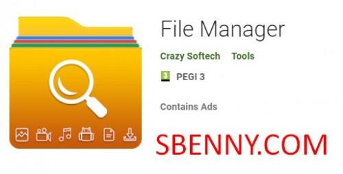 Administrador de archivos + MOD