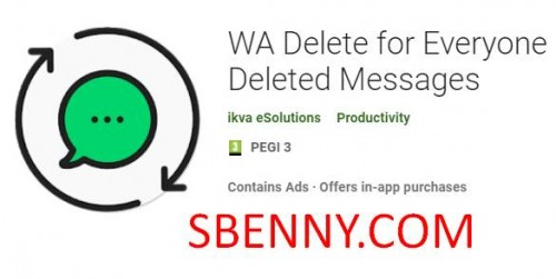 WA Delete for Everyone | View Deleted Messages + MOD
