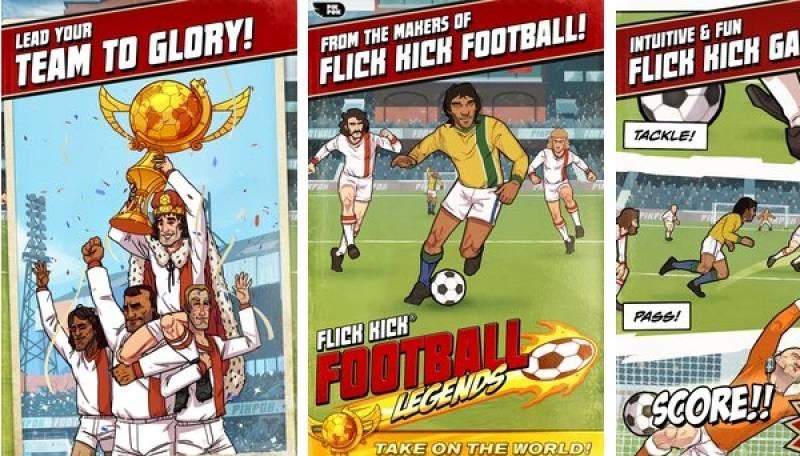Flick Kick Leġġendi tal-Futbol + MOD