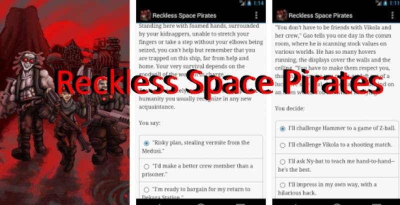 Reckless Space Pirates + MOD