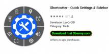 Shortcutter - Quick Settings​ & Sidebar + MOD