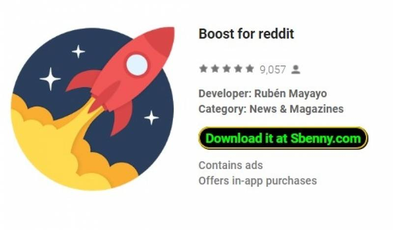 Boost for reddit + MOD