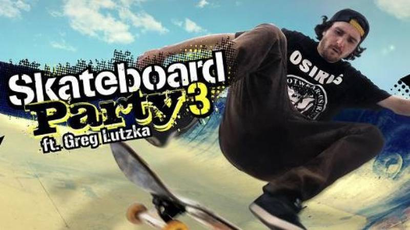 Skateboard Parti 3 Greg Lutzka + MOD