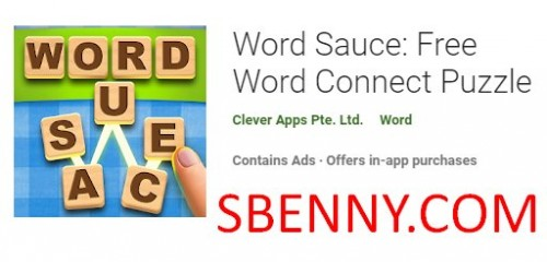 Word Sauce: Puzzle gratuito Word Connect + MOD