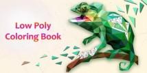 Livro Low Poly - livro para colorir & amp; jogo de arte por número + MOD