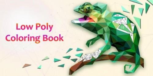 Low Poly Book - libro da colorare & amp; gioco d'arte in base al numero + MOD