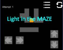 Light in the MAZE