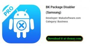 BK Package Disabler (Samsung)