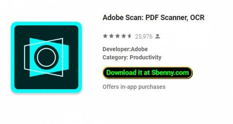 Adobe Scan: Scanner PDF, OCR + MOD