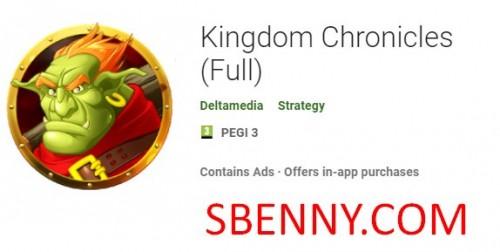 Crónicas del Reino