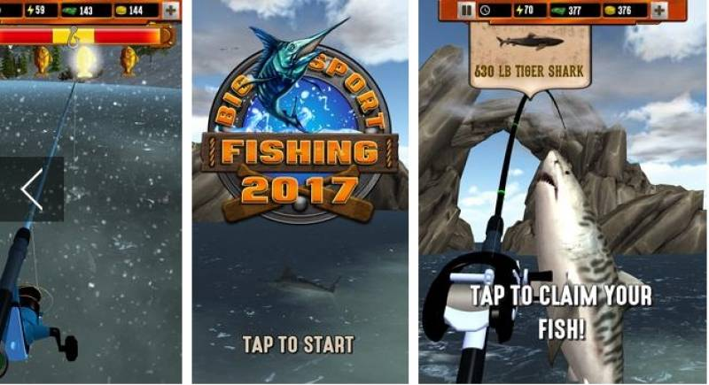 Big 2017 Sport Fishing + MOD