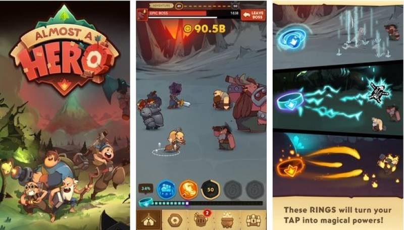 Almost a Hero Unlimited Gems & Money MOD APK Download