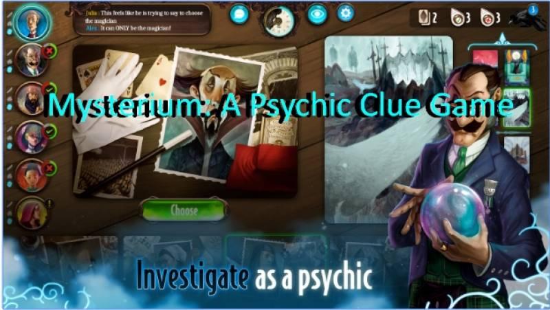 Mysterium: Un psíquico pista de juegos + MOD