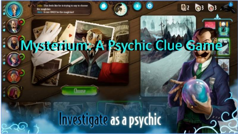 Mysterium: un sensitivo Clue Game + MOD
