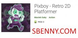 Pixboy - Plataforma retro 2D