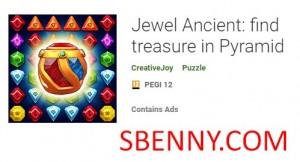Jewel Ancient: encuentra tesoros en Pyramid + MOD