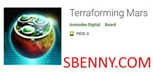 Terraforming مریخ