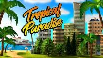 Tropic Paradise Sim: Immeuble de ville City Island Bay + MOD