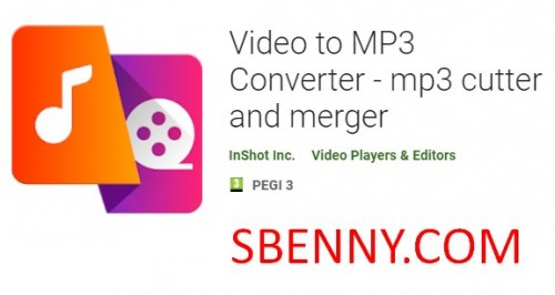 Video to MP3 Converter - mp3 cutter u merger + MOD