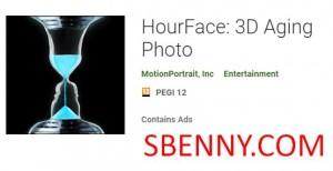 HourFace: фотография старения 3D