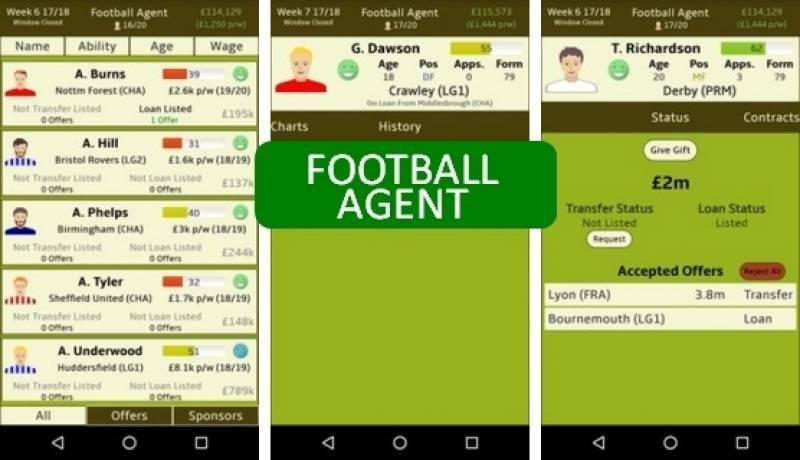 Football Agent + MOD