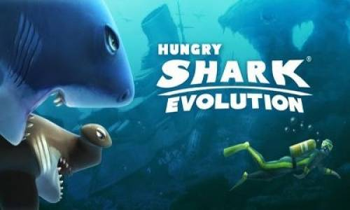 Hungry Shark Evolution + MOD