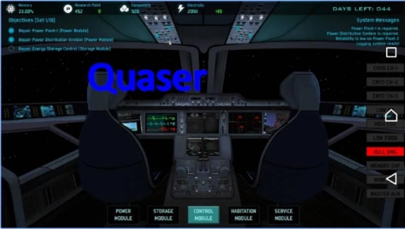 Quaser + MOD