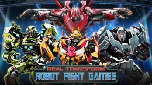 Robot Fighting Games: Real Transform Ring Fight 3D + MOD