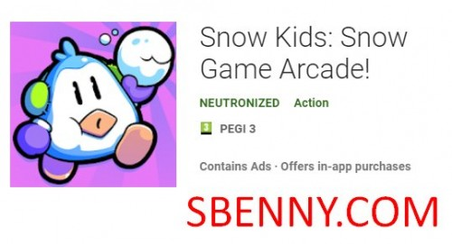 Snow Kids: Snow Game Arcade! + MOD