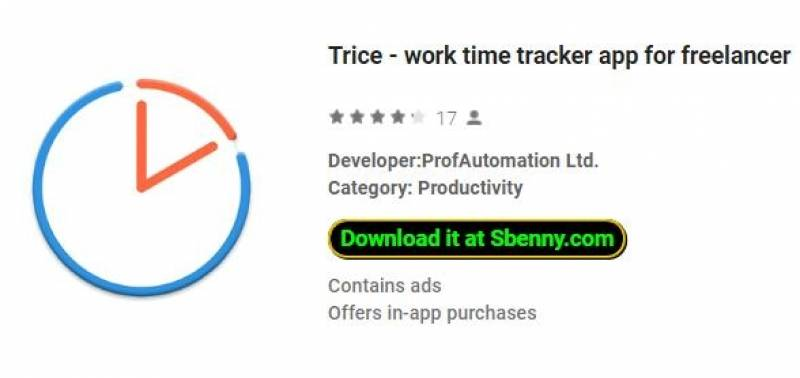 Trice - work time tracker app para freelancer + MOD