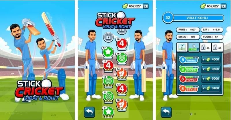 Stick Cricket Virat & amp; Rohit + MOD