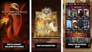 لیگ اژدها - قهرمانان کارت های حماسی + MOD