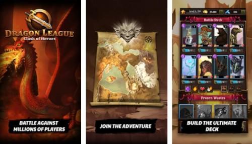 Dragon League - Epic Cards Heroes + MOD