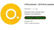 O Plus launcher - 2018 Oreo Launcher, Android ™ O 8 + MOD