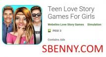 Teen Love Story Игры для девочек + MOD