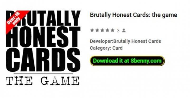 Brutally Honest Cards: el juego