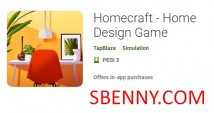 Homecraft - Jeu de Home Design + MOD