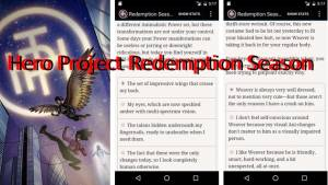 Eroe Progetto Redemption Stagione + MOD