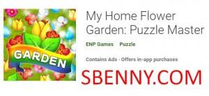Mi jardín de flores de casa: Puzzle Master + MOD