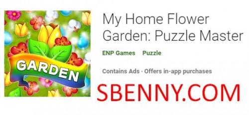 My Home Flower Garden: Puzzle Master + MOD