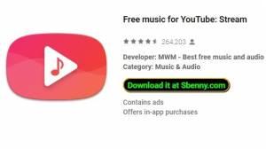 Musique gratuite pour YouTube: Stream + MOD