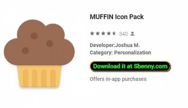 Paquete de icono MUFFIN