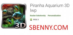 Пиранья Аквариум 3D LWP