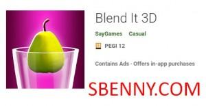 Blend It 3D + MOD