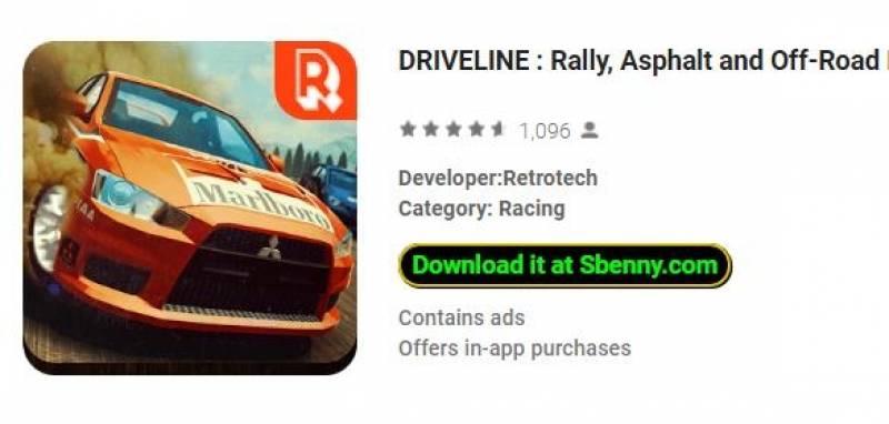 DRIVELINE: Rally, Asfalt u Off-Road Racing + MOD